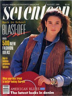 Seventeen Magazine August 1986 by yuko 'n sherlock, via Flickr