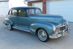 ◆1947 Hudson Super Six Model 491 Sedan◆ Maintenance/restoration of old/vintage vehicles: the material for new cogs/casters/gears/pads could be cast polyamide which I (Cast polyamide) can produce. My contact: tatjana.alic@windowslive.com