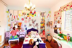 Eclectic Kids' Room Madness