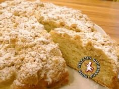 Gâteau+streusel+alsacien Food In French, Sweet Bread, Food Inspiration, Sweet Recipes, Food And Drink, Favorite Recipes, Snacks, Cooking, Beignets