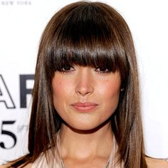 The 9 Sexiest Spring Haircuts - Rose Byrne's Rounded Fringe  - from InStyle.com