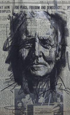Artist : Guy Denning. #guydenning http://www.widewalls.ch/artist/guy-denning/