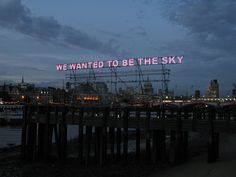 We Wanted | Tim Etchells