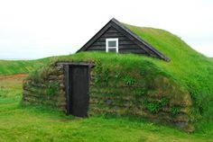 ICELAND: Turf house at Stekkjarkot, Njarðvík