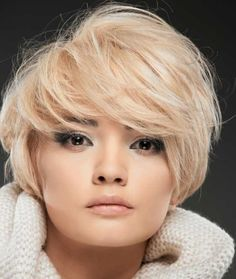 Best Celebrity Hairstyles for Pear-Shaped Face Bob Haircut For Round Face, Bob Hairstyles For Round Face, Short Hair Styles For Round Faces, Short Hairstyles For Women, Celebrity Hairstyles, Curly Hair Styles, Hairstyles Pictures, Short Hair Model, Short Hair Cuts