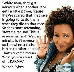 'reverse racism' aka white lies