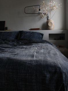 Image of duvet cover (greyish blue)
