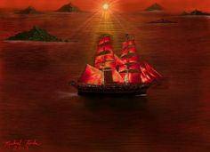 """""""The Voyage"""" by Artist Michael Rucker"""