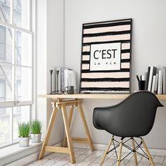 Summer Walls print - C'est la vie !