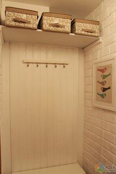 Однушка хрущевка в белом 30 кв.м. - прихожая