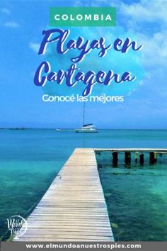 Playas en Cartagena #Colombia #MarTurquesa #playa #caribe #baru #isladelsol Colombia Travel, South America Travel, Bilbao, Wine Country, Photo Book, Travel Tips, Waterfall, Paradise, Places To Visit