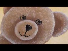 "Video tutorial in French : learn how to paint a lovely teddy bear with the ""One stroke"" painting technique. Cuuuute!  Tutoriel vidéo : utilisez la technique de peinture acrylique ""One Stroke"" pour réaliser d'adorables oursons."