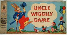 SOLD Vintage Uncle Wiggily Board Game