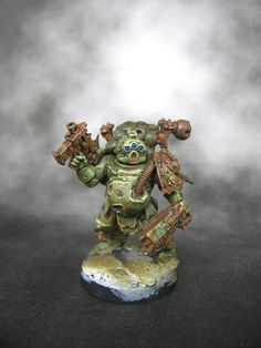 Rust and the city: Death guard test model WIP
