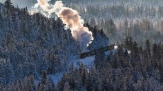 Bing Images, Places To Visit, Germany, Clouds, Train, Snow, Outdoor, Type 3, Theater