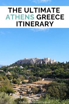 This Athens Greece itinerary is packed with the best things to do in Athens Greece from the Parthenon and Acropolis to the best views. Find out what you must see in Athens Greece and how to save on tickets for the top attractions. Greece Itinerary, Greece Map, Athens Greece, Greece Travel, Europe Travel Guide, Travel Destinations, Travel Tips, Travel Guides, Travel Advice