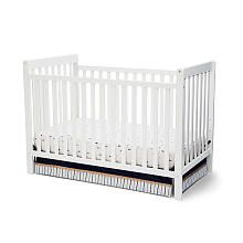 Delta Children Bennington 3-in-1 Crib - White Ambiance