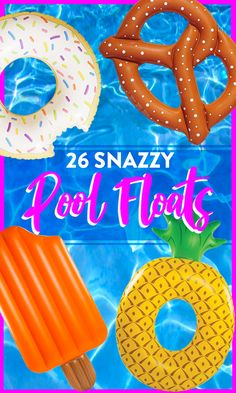 Quirky pool floats for summer