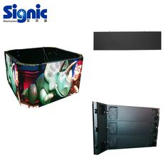 Contact:sales@ledsignic.com Wall mounted LED display for advertisng,easy installation Led Video Wall, Led Logo, Sign Display, Logo Sign, Round Design, Wall Mount, Advertising, Indoor, Creative