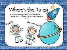 This is a social studies mini unit (student booklet form) that is a fun, engaging, hands-on experience in making rules and laws. Students assist the… 2nd Grade Activities, Book Activities, Teaching Resources, Social Studies Classroom, Classroom Rules, Classroom Ideas, Teacher Pay Teachers, Elementary Teacher, Elementary Art