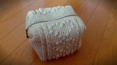 【編み図付き】ハートの編みキャラメルポーチ | かぎ針編み・無料編み図 ATELIER *mati* もっと見る