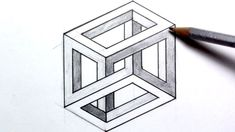 23 Best Ideas for funny art drawings optical illusions Optical Illusions Drawings, Illusions Mind, Mc Escher, 3d Illusion Drawing, Illusion Kunst, Optical Illusion Art, Funny Drawings, 3d Drawings, Geometric Tattoos