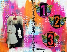 Vintage Muse Designs: Use Your Wings Art Journal