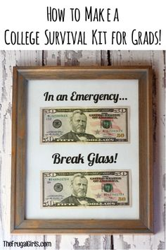 DIY Ultimate College Survival Kit for Grads or Finals Week! ~ from TheFrugalGirls.com ~ show your college friends and family how much you care or send your new grads off in style with these fun essentials for a College Survival Kit!