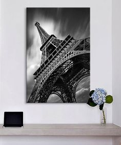 Another great find on #zulily! Levy Eiffel Tower Study II Replica Gallery-Wrapped Canvas by  #zulilyfinds