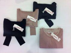 #maglia fiocco  #pink _Grey_black #kontatto