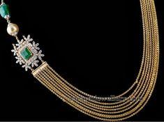 Chandra Haar with Diamond Motifs