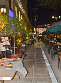 Cafe scene...Merida, Yucatan.