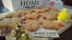 """Νηστίσιμα μπισκότα cookies με βρώμη, μέλι και κανέλα! Πανεύκολη συνταγή για μπισκότα από το βιβλίο της Αθηνάς Πάνου """"Cookies"""" Cheesecake Brownies, Greek Recipes, Cookies, Biscuits, Chicken, Meat, Breakfast, Food, Crack Crackers"""