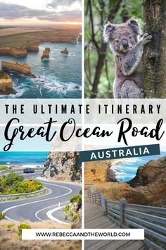 Plan the perfect 3-day Great Ocean Road itinerary. PLUS options for 1 day, 2 day self drive Great Ocean Road itinerary, and 4+ days on one of the best Australian Road Trips. | Great Ocean Road | Great Ocean Road Itinerary | Australia Road Trips | Self Drive Great Ocean Road Itinerary | 3 Days Great Ocean Road Itinerary | 2 Days Great Ocean Road Itinerary | Great Ocean Road Trip | Visit Victoria | Great Ocean Road Australia | Australia Itinerary | Great Ocean Road Tour | Great Ocean Road Map