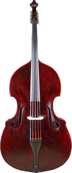 Ferdinand Seitz, 5 String Double Bass 'The Red Baron'