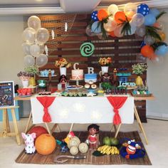 Moana Theme, Moana Party, 3rd Birthday Parties, 2nd Birthday, Moana Decorations, Moana Birthday, Party Decoration, First Birthdays, Party Time