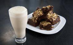 Andy Bates' Salted Peanut Caramel Brownies