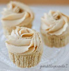 Guindilla y Canela: Mini Cupcakes de cacahuetes
