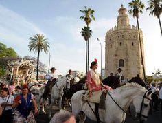 Hermandad del Rocío de Sevilla.#Sevilla #Seville #sevillaytu @sevillaytu