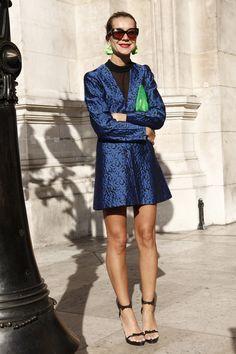 Fotos street style Paris Fashion Week: Natalie Joos 2012