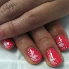 Summer time nail art