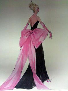 "Barbie Illustration....how ""Diamonds"" <3"