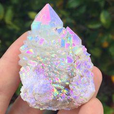 """cosmicdreamclub: """" Moonbeam aura fairy quartz ✨☄ """""""