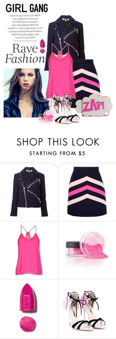 """""""pink is for girls"""" by nataskaz ❤ liked on Polyvore featuring Kenzo, MSGM, Milly, NARS Cosmetics, Sophia Webster, Rebecca Minkoff, women's clothing, women, female and woman"""
