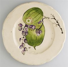 Plate with fruit - 1878-95, French 19th C. Paris, musée d'Orsay