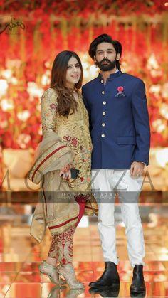 Walima Dress, Pakistani Wedding Dresses, Prince Suit, T Dress, Groom Outfit, Foto Pose, Wedding Outfits, Couple Shoot, Beautiful Couple