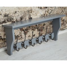 You'll love the Heritage Shelf with 6 Coat Hooks at Wayfair.co.uk - Great Deals on all Furniture  products with Free Shipping on most stuff, even the big stuff.