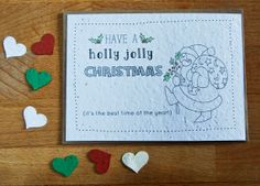 Have a Holly Jolly Christmas Plantable Seed by jojobeandesigns, $3.50