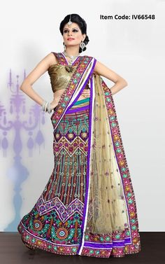 Melodic Beige Brown Lehenga Choli      You look so charming wearing this attire. Create a smoldering impact by this beige brown net lehnga choli. The lovely lace, resham & sequins work throughout the attire is awe-inspiring.