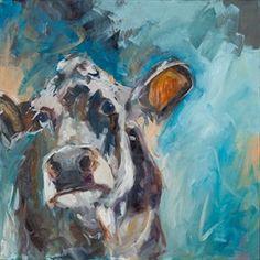 "Limited Edition Sue Moffitt Cow Print ""Storm"""